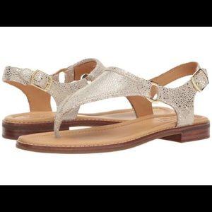 NIB Sperry Platinum Sandals
